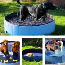 Portable Pet Bath Pool Folding PVC Swimming Pool Dog Paddling Bathing Water Tub