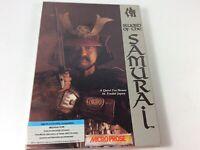 SWORD OF THE SAMURAI - MicroProse - IBM PC Game Floppy Disks Complete In Big Box