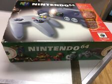 Nintendo N64 Console Boxed - With Internal Packaging And Manual- Post Worldwide