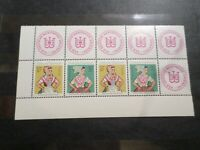 ALLEMAGNE DDR 1971, timbres 1358/1361, COSTUMES DANCE, neufs**, MNH STAMPS