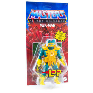 MotU Masters of the Universe Origins 14 cm Action Figur mit Zubehör: LoP Mer Man