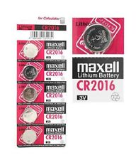 10X CR2016 Branded Hitachi MAXELL 3V LITHIUM Coin Cell Button Batteries Trusted