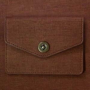 ID Credit Card Money Holder Lanyard Necklace Strap Case Handmade Slim Wallet E