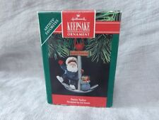 "Hallmark Collectible Ornament ""Santa Sailor"" 1991 Anchor Ed Seale"