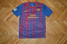 Barcelona 2011-2012 Home Football Soccer Jersey Shirt Messi Vtg Nike men S