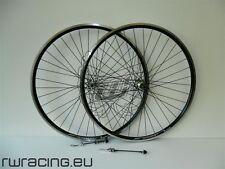 Coppia ruote bici / citybike / trekking Komet da 28 Nere / a filetto / v-brake