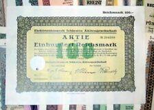 618 verschiedene Aktien und Anleihen 1913-1944