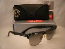 Ray Ban RB4175 877 Matte Black Clubmaster Oversized Sunglasses 100 UV Unisex