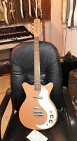 Danelectro DC2 2004 as shownpeachcoral-whatever-sold as shown Fortmadisonguitars