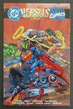 DC vs. Marvel TPB VF+ OOP 2nd Printing Avengers Justice League Marvel vs. DC