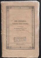 Colera  Del cholera vagante nella Liguria  Giovan Battista Fantonetti   1835