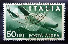 ITALIA 1946 - 50L Airmail sg677 Belle / Usato Nuovo Prezzo fp7148