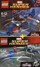 LEGO Super Heroes #30302, #30305 - Spider-Man Glider + Super Jumper - NEW