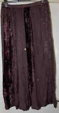 Impact Brown Elasticated Skirt Size 18-20