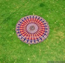 182.9cm Mandala Indien Rond Arrondi Boho Plage Jeté Tapisserie Hippie Yoga Tapis