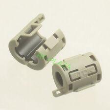 10pcs TDK Gray Φ7mm Cable Clamp Clip RFI/EMI/EMC Noise Filters Ferrite Core Case