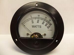 Bird 43 Thruline 30Ua Replacement Wattmeter Element / Slug Reading Meter Face
