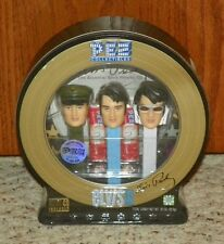Elvis Presley Limited Edition PEZ Dispensers with CD - #/400,000