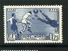 N° 396 NEUF ** SANS CHARNIERE GOMME D'ORIGINE - COUPE DU MONDE DE FOOTBALL 1938