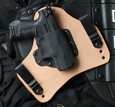 Leather Kydex Hybrid Gun Holster Walther P22 IWB Tuck