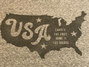 Men's American Eagle T-Shirt Size M - MEDIUM - GRAY - USA - AMERICAN EAGLE NWOT