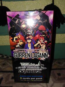 Weiss Schwarz Gurren Lagann Booster Box