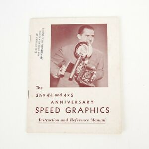 +Vintage Original Speed Graphic Instruction and Reference Manual