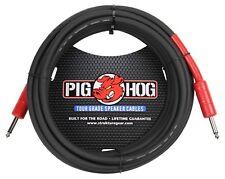"""Pig Hog 25ft Speaker Cable 1/4"""" PHSC25 8mm 14 gauge Ft Amp Head PigHog"""