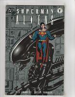 Superman vs Aliens Trade Paperback TPB 1 DC Dark Horse Comic 1st Print 1995 NM