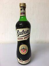 Buton Rosso Antico Aperitivo Vino Stab. Ponti Sul Mincio 1 Litro 17%vol Vintage