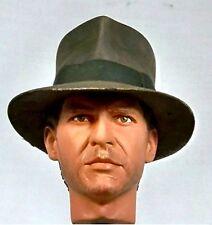 1:6 Custom Head of Harrison Ford as Indiana Jones ROTLA