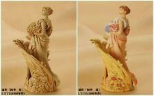 ALPHONSE MUCHA FIGURE MUSEUM Vol. 2 L'ETE Ivory and colorful kaiyodo rare japan