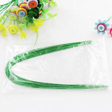 Iron Wire Green Stocking Bundle Flower Ribbon Thread Creative DIY Tools ONE