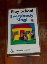 Play School Everybody Sing - VHS