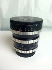P.Angenieux 28mm f3.5 RETROFOCUS TYPE R11 Lens with Canon Mount Adapter.