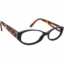 Burberry Eyeglasses B 211 BYO176568 Black/Brown Oval Frame Italy 50[]17 130