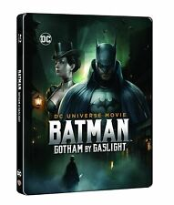 BATMAN  - Gotham By Gaslight Blu ray Steelbook ( NEW )
