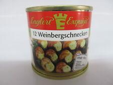 Weinberg Schnecken Weinbergschnecken Schneckenfleisch 12 St. Füllm. 100g/ATG 50g