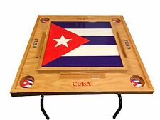 Cuba flag Domino Table With Flag -Full