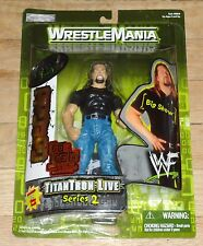 2000 WWF WWE Jakks Big Show Wrestling Figure MIP MOC Wrestlemania Go For Gold