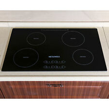 """31.5"""" Electric Induction Cooktop & 4 Burners Smooth Surface Glass Plate Cooktops"""