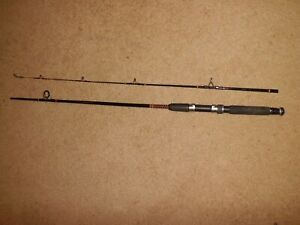 """Vintage SHAKESPEARE Ugly Stik SP 1100 Medium Spinning 6'6"""" Rod made in USA"""
