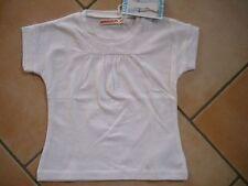 (6) Imps & Elfs Baby kurz Arm T-Shirt tailliert & gerafft + Logo Aufnäher gr.68