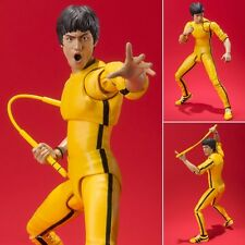 S.H. Figuarts Bruce Lee Yellow Track suit action figure Bandai