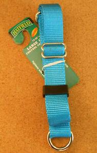 Hatfield Blue Safety No Slip Large Dog Collar New  sa