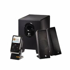 Logitech X-240 2.1 Speakers with Subwoofer Excellent sound quality 110v