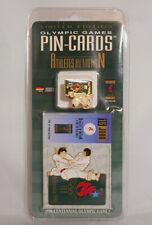 New IPC Limited Edition Athletes in Motion 1996 Atlanta Pin Cards # 16/30 Judo