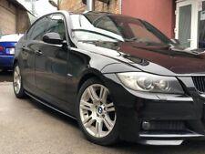 Nero Lucido Per M Sport BMW E90/E91 04-13 Lato Minigonne Diffusori Performance
