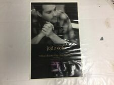 Rare! Cd Lp Jude Cole Promo Poster 17x11 music Rock Start The Car