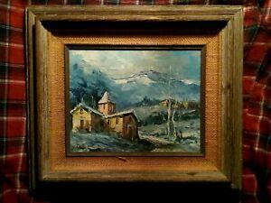James Lawson Balfour (1870-1966) Antique Original Oil on Canvas, framed.